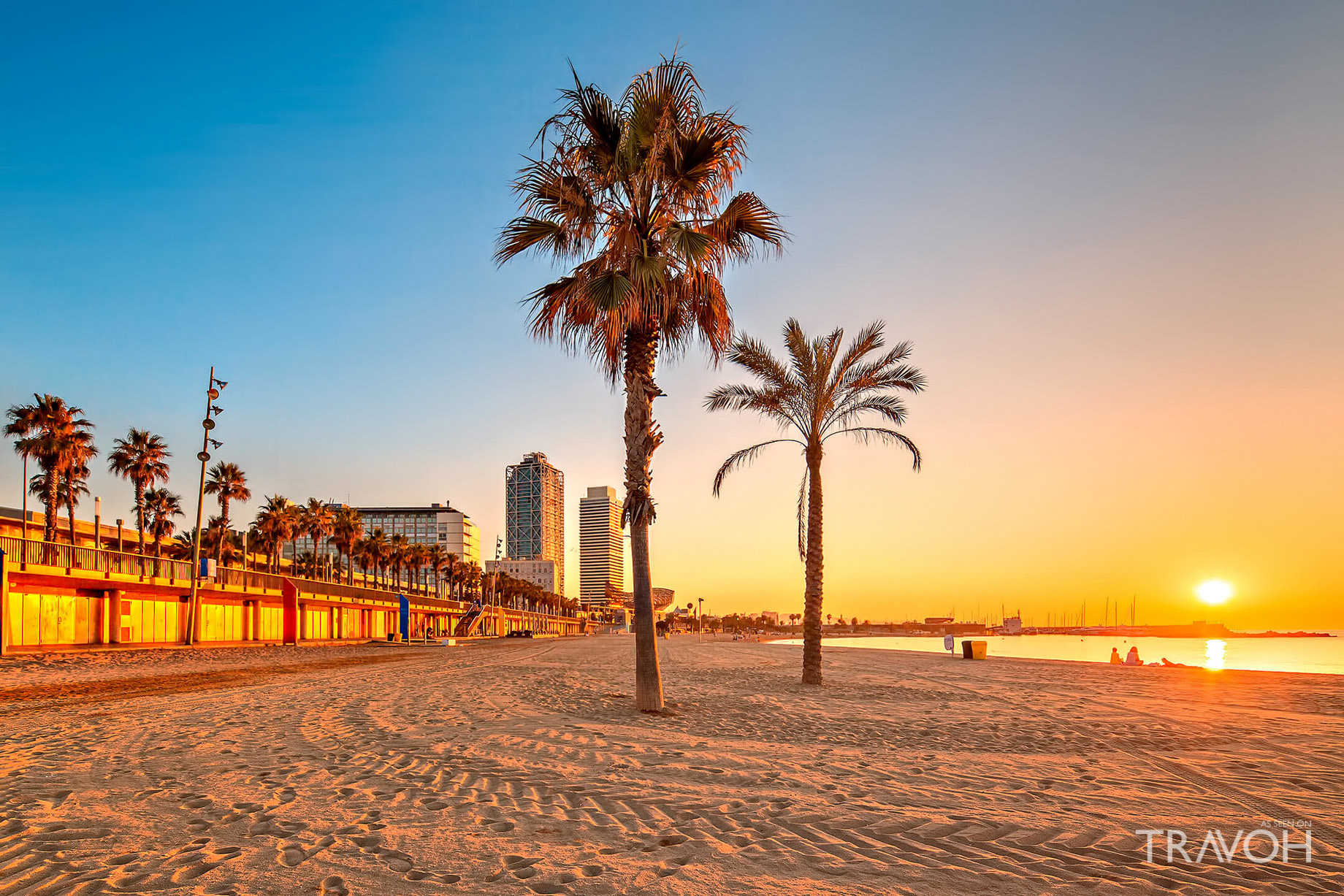 Nova Mar Bella Beach - Exploring 10 of the Top Beaches in Barcelona, Spain