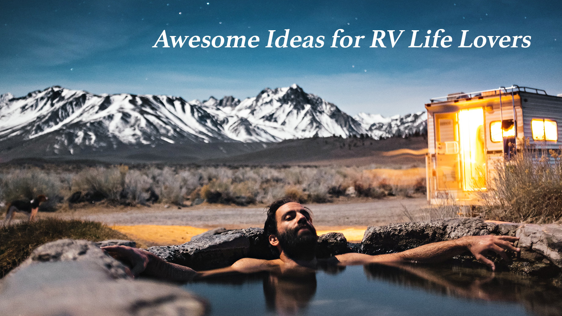 Awesome Ideas for RV Life Lovers - Mammoth Lakes, California, USA