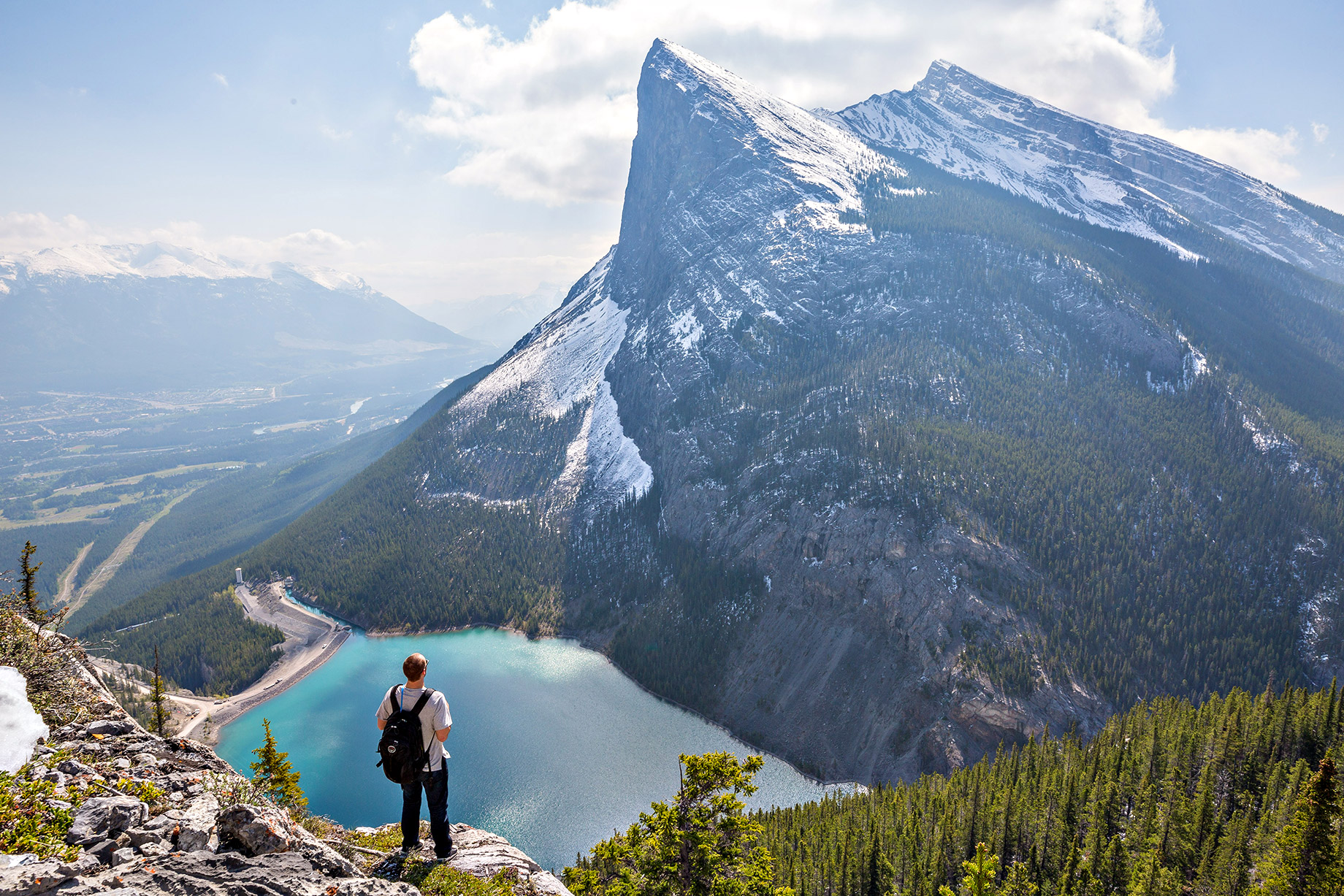 Hiking - Awesome Ideas for RV Life Lovers - East End of Rundle (EEOR) Trail, Banff National Park, Alberta, Canada