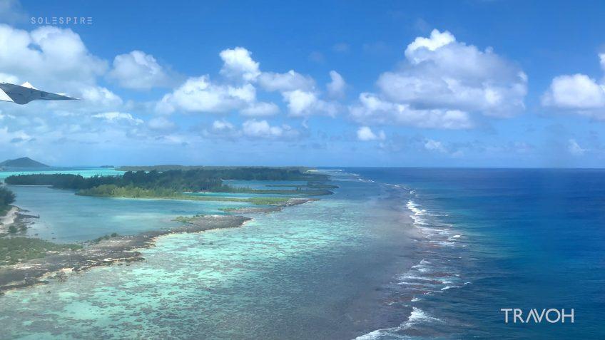 Bora Bora Airport Arrival - Motu Tane Private Island Vacation - French Polynesia - Travel