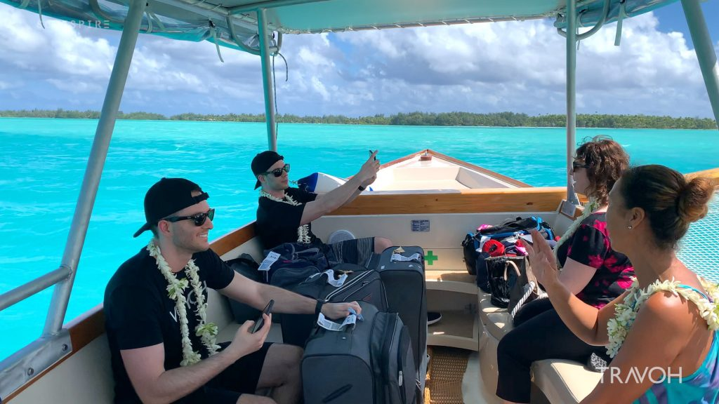 Marcus Anthony & Derek Alexander - Bora Bora Tropical Sea - Motu Tane Private Island Vacation - French Polynesia - Travel