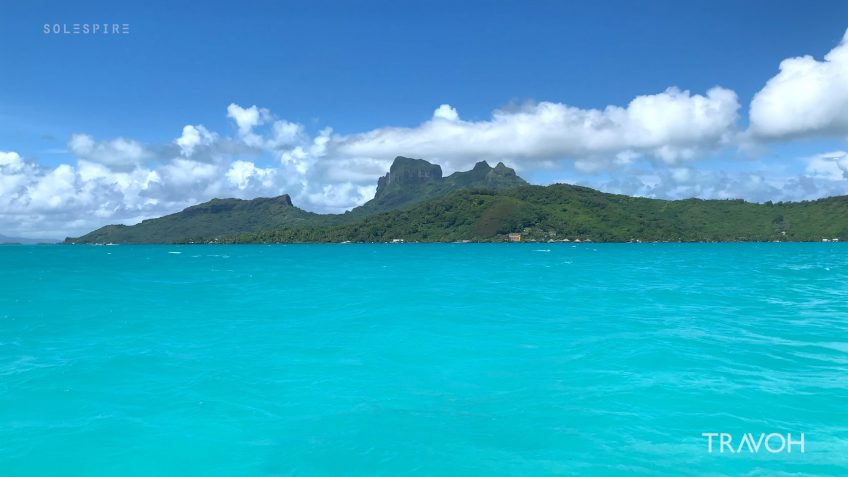 Marcus Anthony & Derek Alexander - Bora Bora Lagoon Boat Ride - Motu Tane Private Island Vacation - French Polynesia - Travel