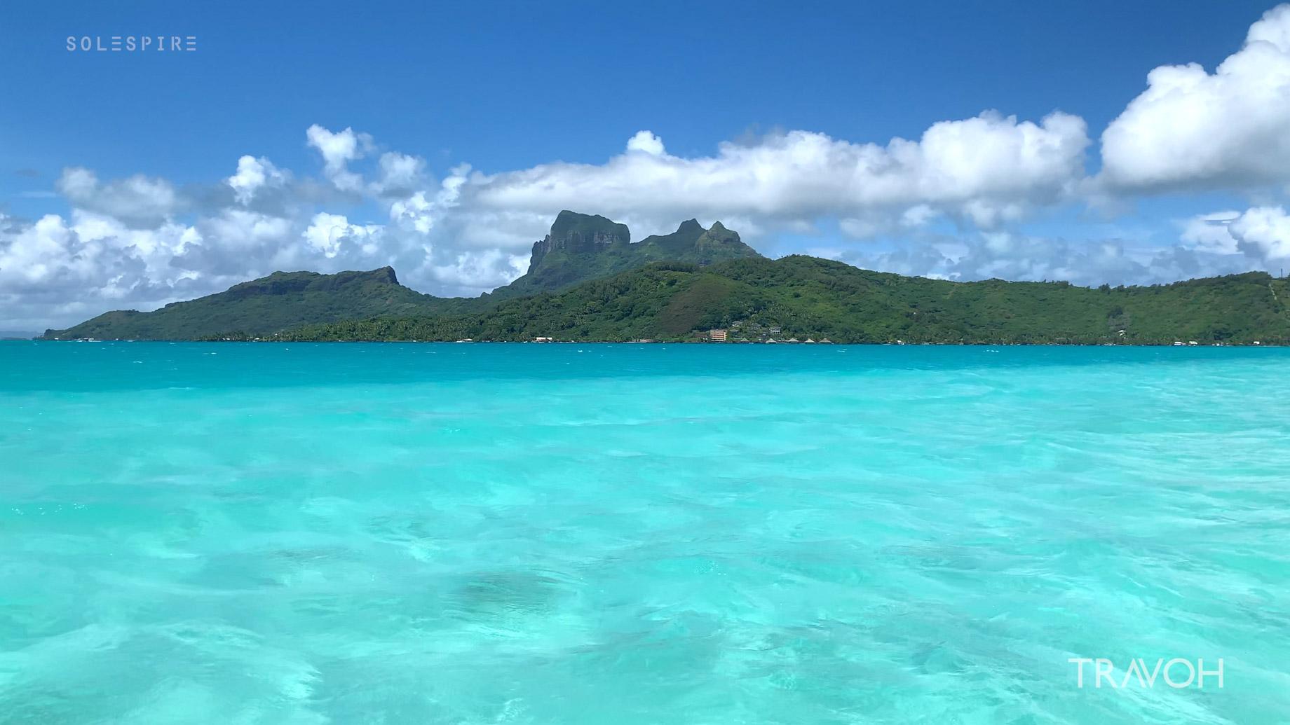 Bora Bora Tropical Sea Lagoon – Motu Tane Private Island Vacation – French Polynesia – Travel