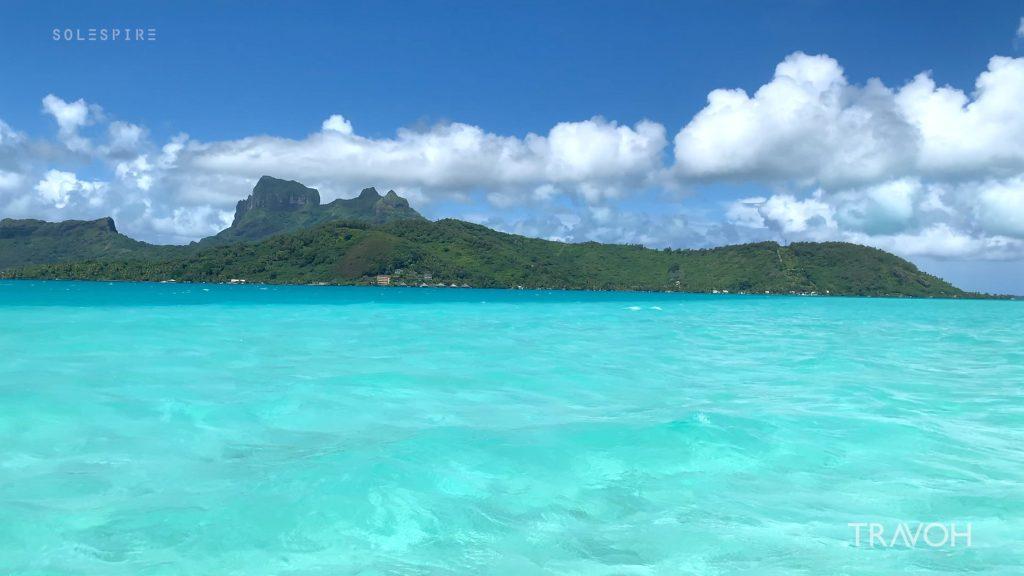 Bora Bora Tropical Sea Lagoon - Motu Tane Private Island Vacation - French Polynesia - Travel