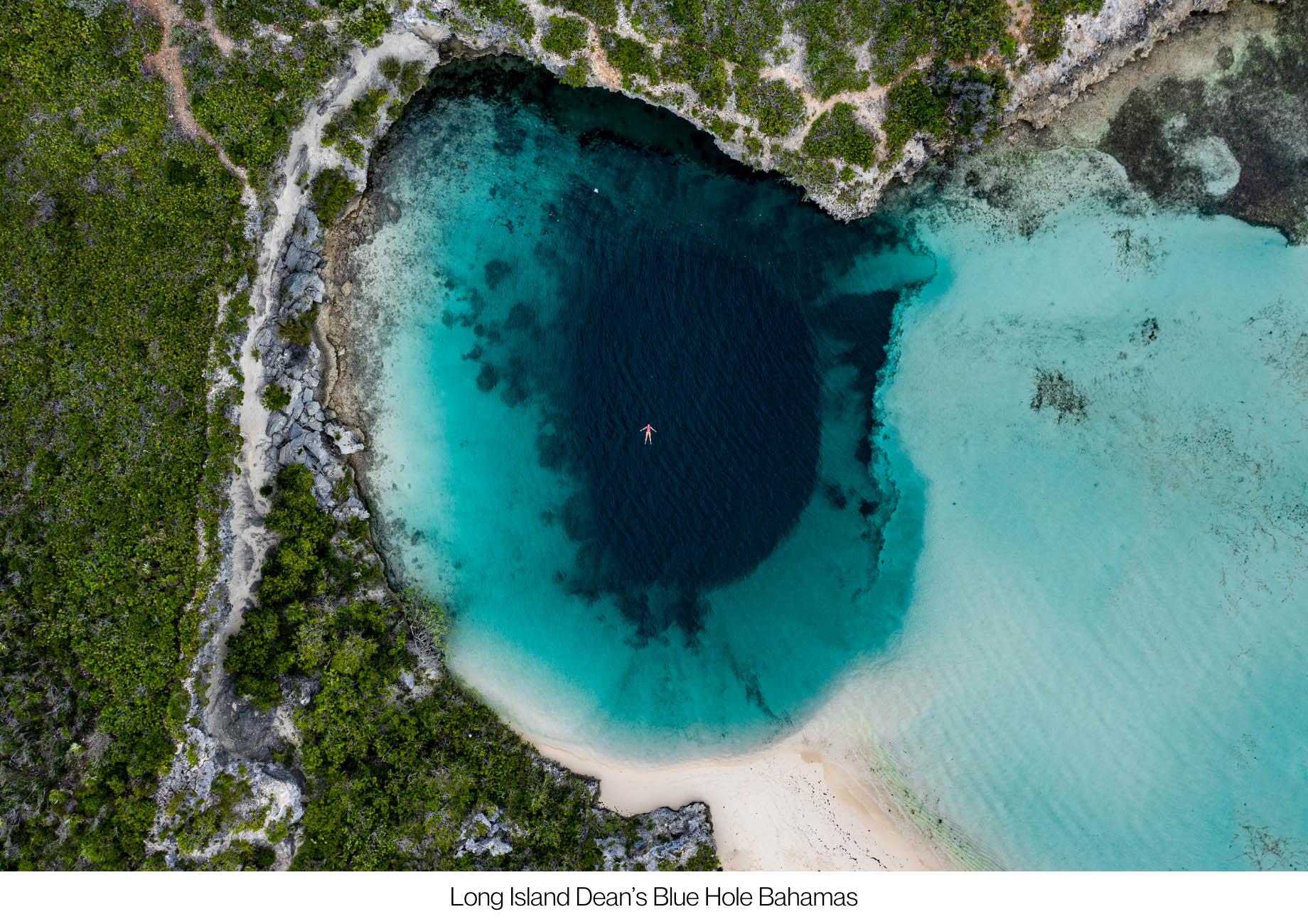Discover The Hidden Island Gems of The Bahamas - Long Island Dean's Blue Hole Bahamas