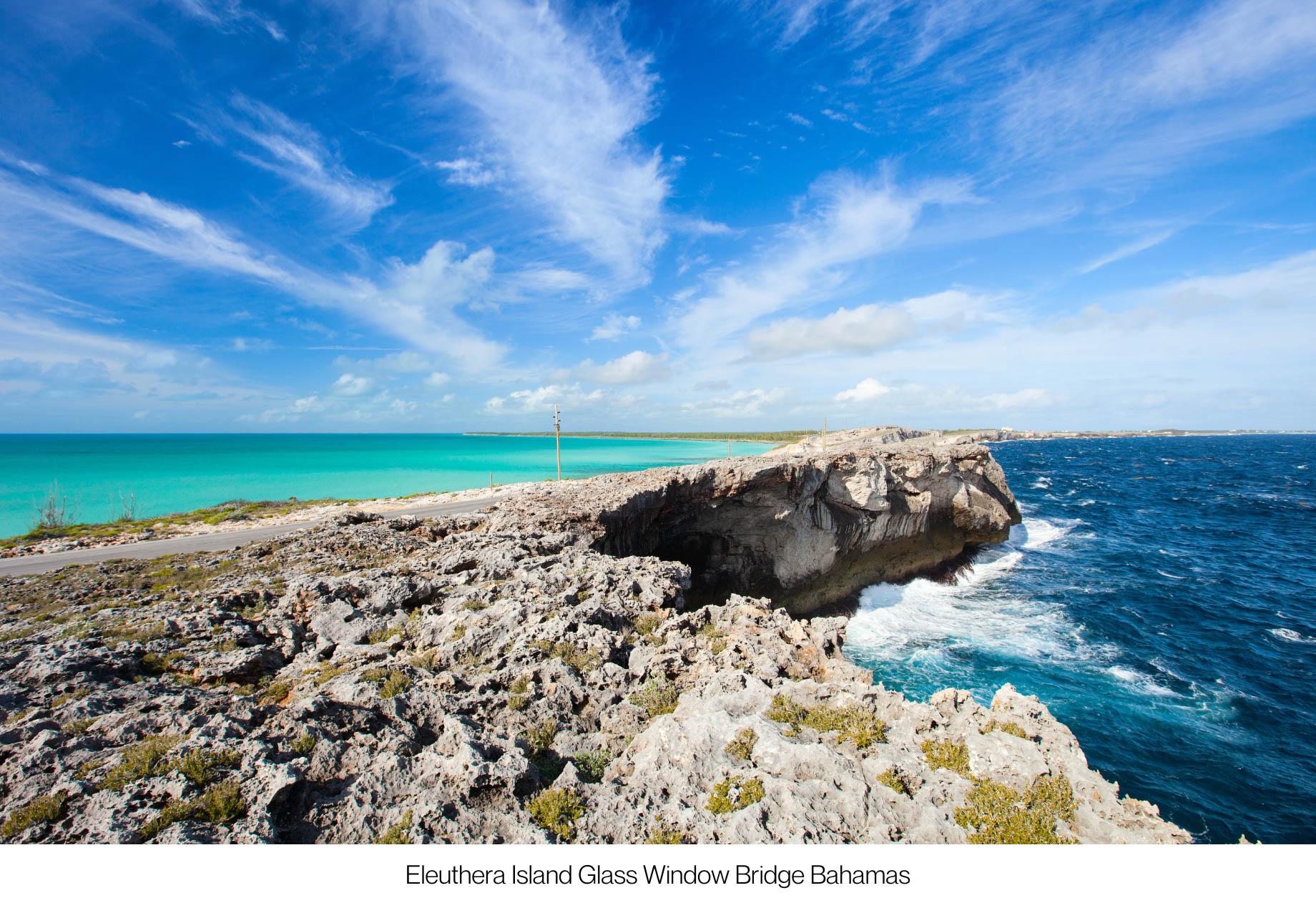 Discover The Hidden Island Gems of The Bahamas - Eleuthera Island Glass Window Bridge Bahamas