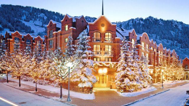 The St. Regis Aspen Resort - Aspen, CO, USA - Winter Exterior