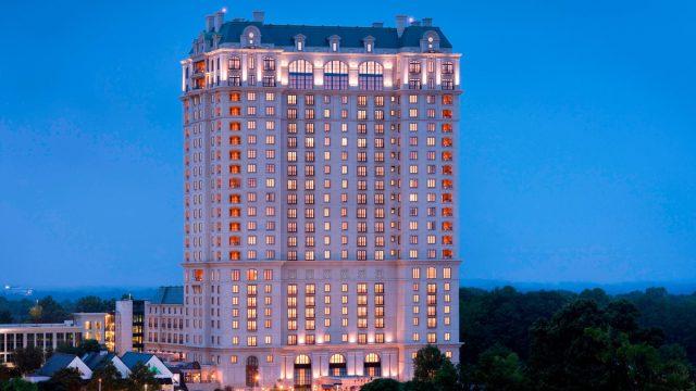 The St. Regis Atlanta Hotel - Atlanta, GA, USA - Hotel Night Exterior