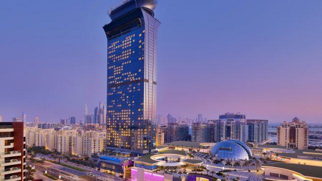The St. Regis Dubai The Palm Jumeirah Hotel - Dubai, UAE - The St. Regis Dubai, The Palm Night View