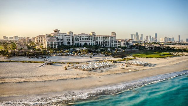 The St. Regis Saadiyat Island Resort - Abu Dhabi, UAE - Resort Beach View