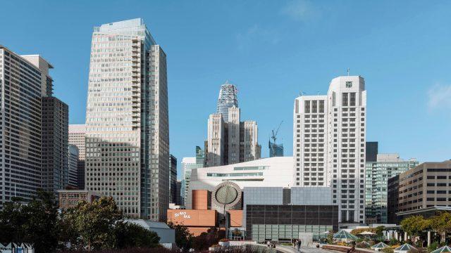 The St. Regis San Francisco Hotel - San Francisco, CA, USA - Hotel Exterior