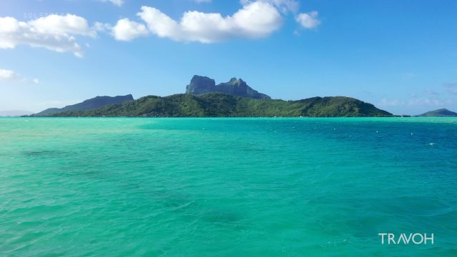 Bora Bora - Serene Paradise from Motu Tane - Most Beautiful Island in French Polynesia - 4K Travel Video