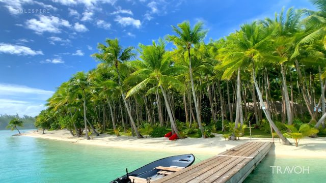 Dream House Music - Exploring Motu Tane Island - Bora Bora, French Polynesia - 4K Travel Video